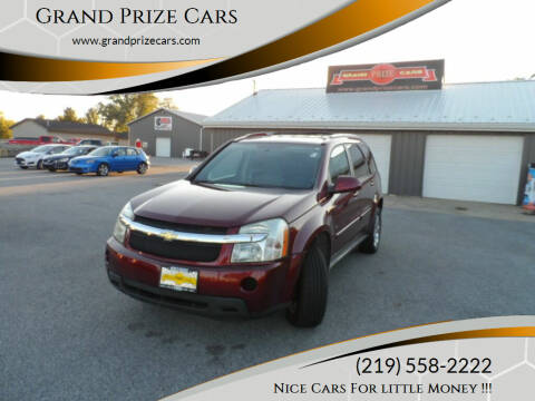 2007 Chevrolet Equinox for sale at Grand Prize Cars in Cedar Lake IN