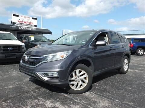 2015 Honda CR-V for sale at Automotive Credit Union Services in West Palm Beach FL