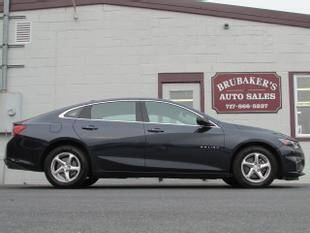 2017 Chevrolet Malibu for sale at Brubakers Auto Sales in Myerstown PA