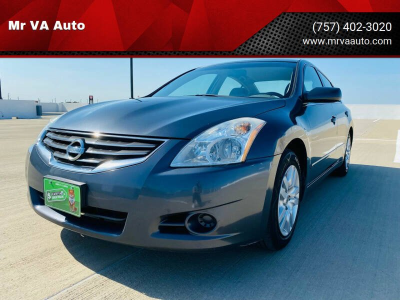 2010 Nissan Altima for sale at Mr VA Auto in Chesapeake VA
