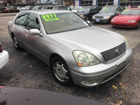 2002 Lexus LS 430 for sale at Klein on Vine in Cincinnati OH
