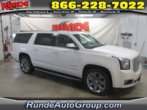 2016 GMC Yukon XL for sale at Runde Chevrolet in East Dubuque IL