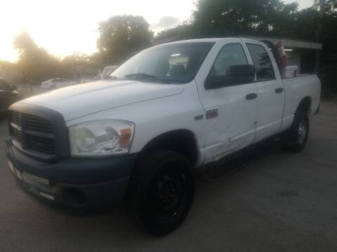 2009 Dodge Ram Pickup 2500 for sale at Nile Auto in Fort Worth TX