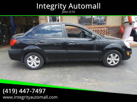 2008 Kia Rio for sale at Integrity Automall in Tiffin OH