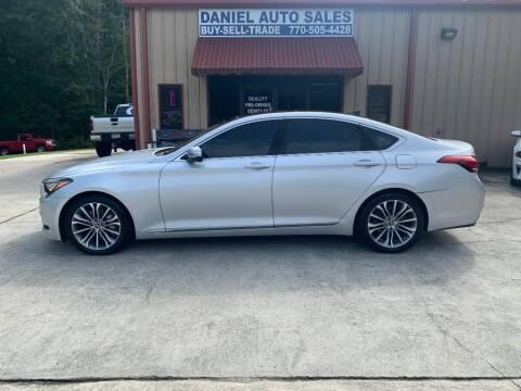 2015 Hyundai Genesis for sale at Daniel Used Auto Sales in Dallas GA