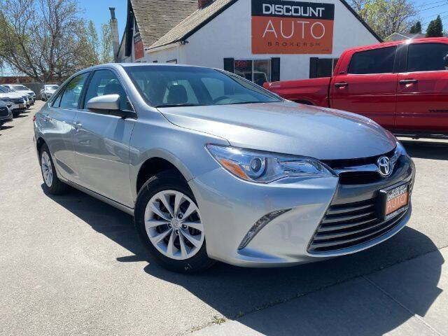 2017 Toyota Camry for sale at Discount Auto Brokers Inc. in Lehi UT
