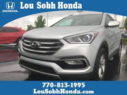 2017 Hyundai Santa Fe Sport for sale at Southern Auto Solutions - Lou Sobh Honda in Marietta GA