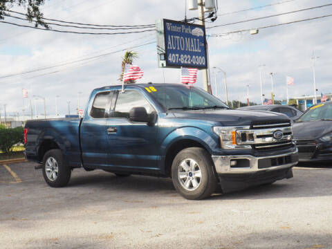 2018 Ford F-150 for sale at Winter Park Auto Mall in Orlando FL