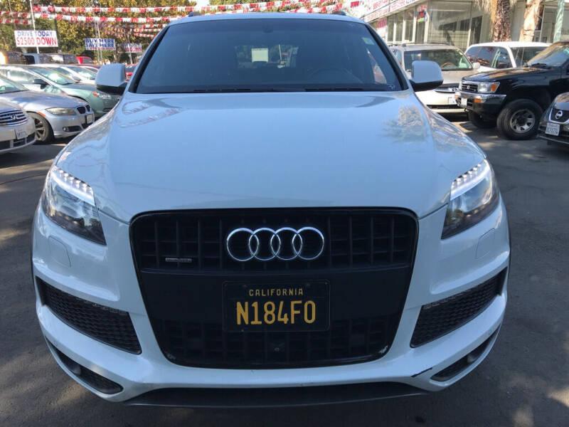 2015 Audi Q7 for sale at EXPRESS CREDIT MOTORS in San Jose CA