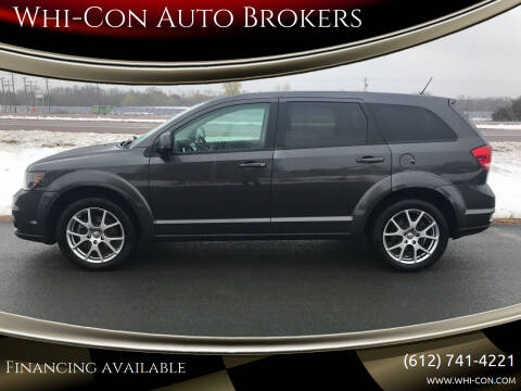2016 Dodge Journey for sale at Whi-Con Auto Brokers in Shakopee MN