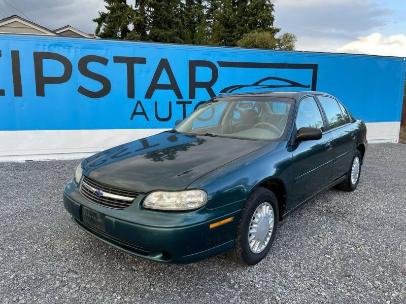 2001 Chevrolet Malibu for sale at Zipstar Auto Sales in Lynnwood WA