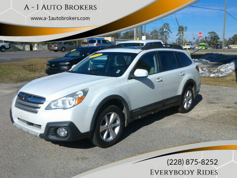 2014 Subaru Outback for sale at A - 1 Auto Brokers in Ocean Springs MS