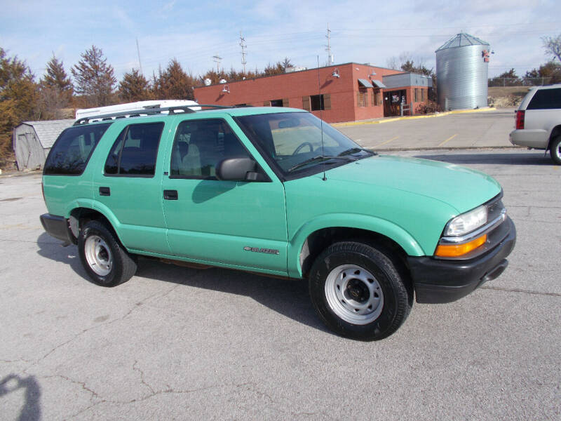 2002 Chevrolet Blazer for sale at Governor Motor Co in Jefferson City MO