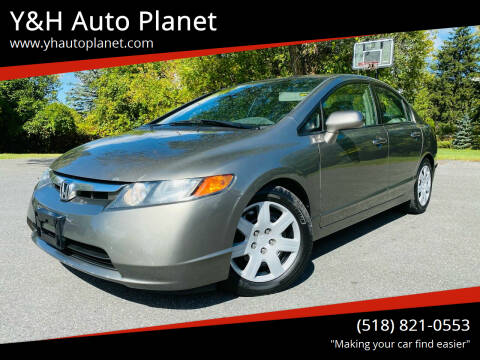 2008 Honda Civic for sale at Y&H Auto Planet in West Sand Lake NY
