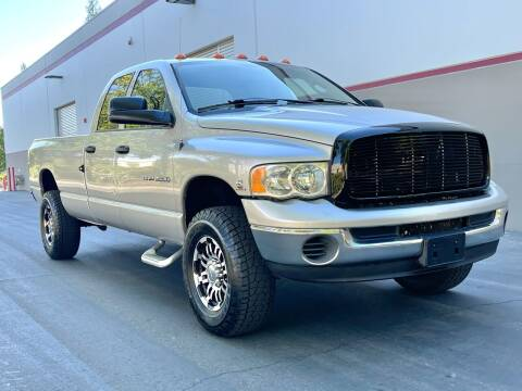 2005 Dodge Ram Pickup 3500 for sale at COUNTY AUTO SALES in Rocklin CA