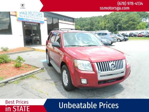2008 Mercury Mariner for sale at S & S Motors in Marietta GA