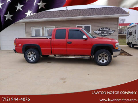 2000 Chevrolet Silverado 1500 for sale at Lawton Motor Company in Lawton IA