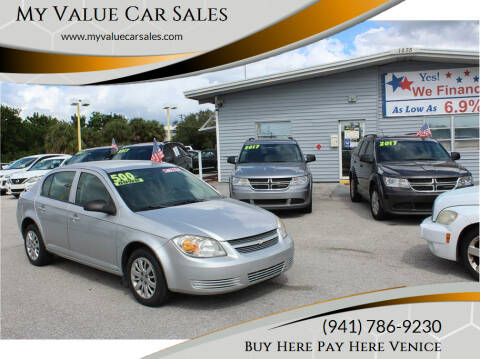 2009 Chevrolet Cobalt for sale at My Value Car Sales in Venice FL