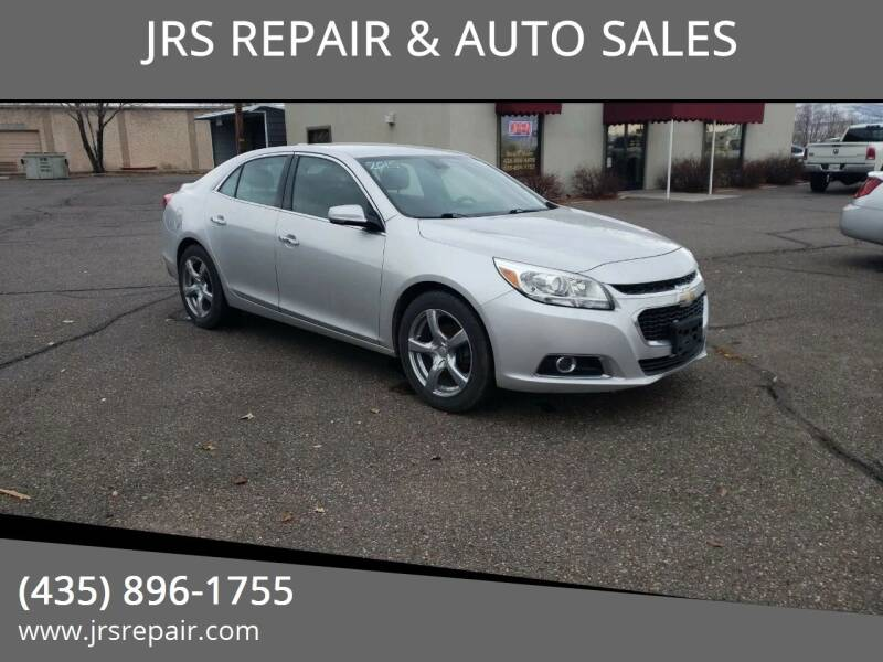 2015 Chevrolet Malibu for sale at JRS REPAIR & AUTO SALES in Richfield UT