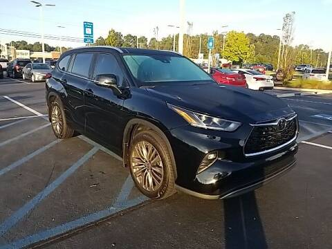 2021 Toyota Highlander for sale at Southern Auto Solutions - Lou Sobh Kia in Marietta GA