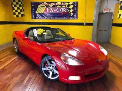 2005 Chevrolet Corvette for sale at Escar Auto in El Paso TX