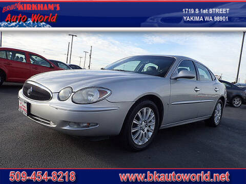 2007 Buick LaCrosse for sale at Bruce Kirkham Auto World in Yakima WA
