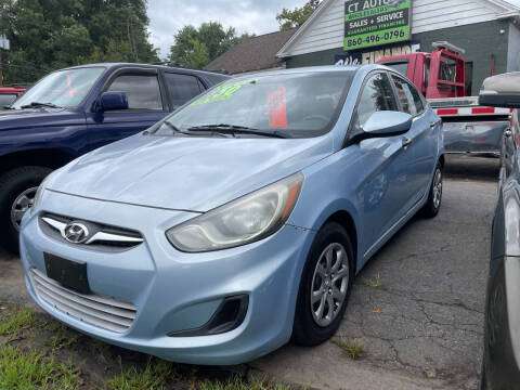 2012 Hyundai Accent for sale at Connecticut Auto Wholesalers in Torrington CT