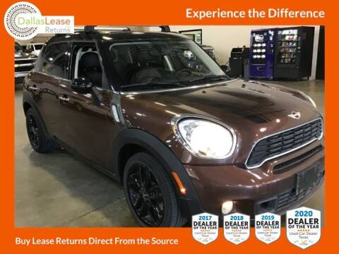 2013 MINI Countryman for sale at Dallas Auto Finance in Dallas TX