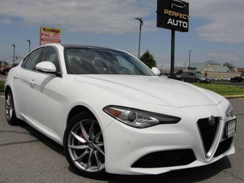 2019 Alfa Romeo Giulia for sale at Perfect Auto in Manassas VA