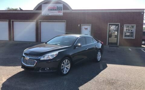 2014 Chevrolet Malibu for sale at Family Auto Finance OKC LLC in Oklahoma City OK