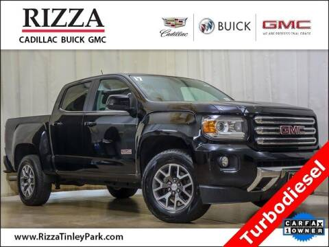 2017 GMC Canyon for sale at Rizza Buick GMC Cadillac in Tinley Park IL