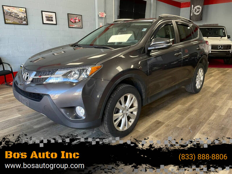 2014 Toyota RAV4 for sale at Bos Auto Inc in Quincy MA