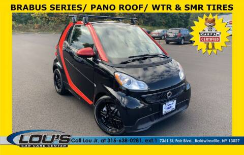 2013 Smart fortwo for sale at LOU'S CAR CARE CENTER in Baldwinsville NY