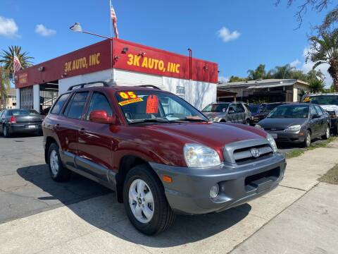 2005 Hyundai Santa Fe for sale at 3K Auto in Escondido CA