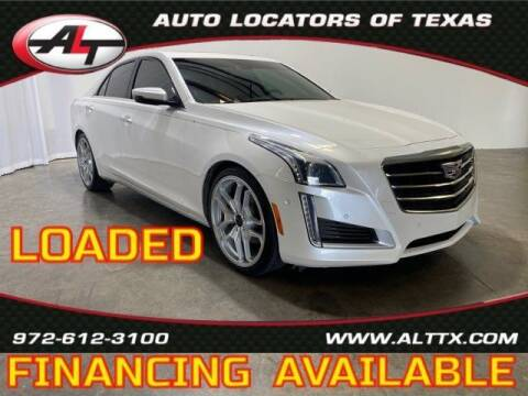 2016 Cadillac CTS for sale at AUTO LOCATORS OF TEXAS in Plano TX