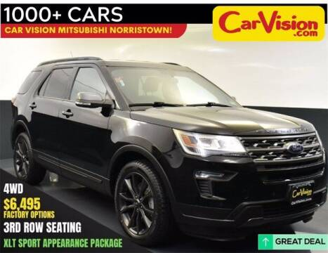 2018 Ford Explorer for sale at Car Vision Buying Center in Norristown PA