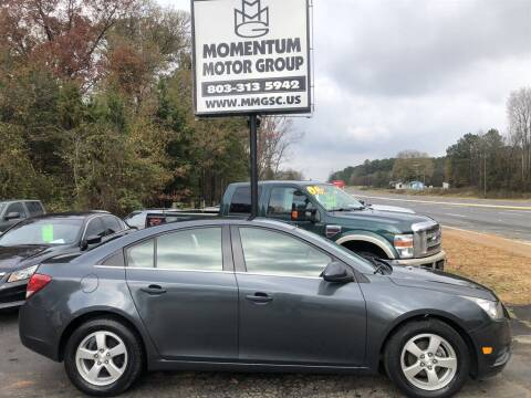 2013 Chevrolet Cruze for sale at Momentum Motor Group in Lancaster SC