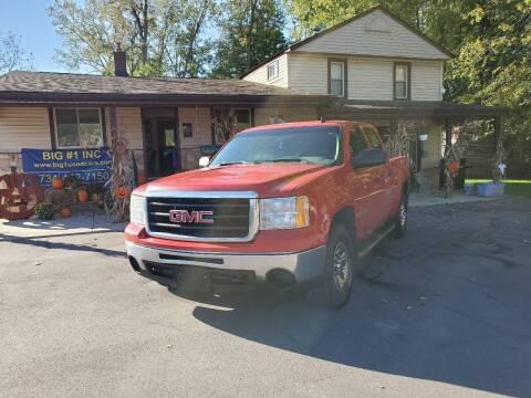 2009 GMC Sierra 1500 for sale at BIG #1 INC in Brownstown MI