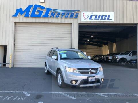 2014 Dodge Journey for sale at MGI Motors in Sacramento CA