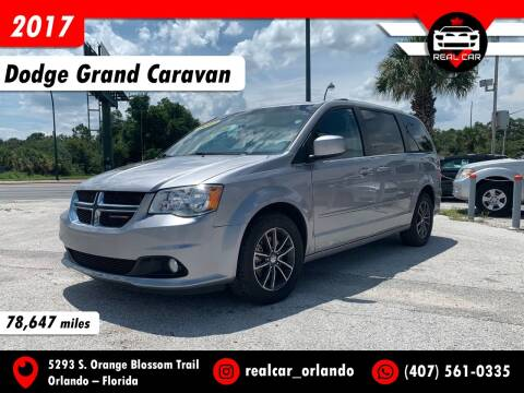 2017 Dodge Grand Caravan for sale at Real Car Sales in Orlando FL