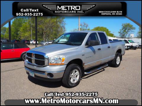2006 Dodge Ram Pickup 1500 for sale at Metro Motorcars Inc in Hopkins MN