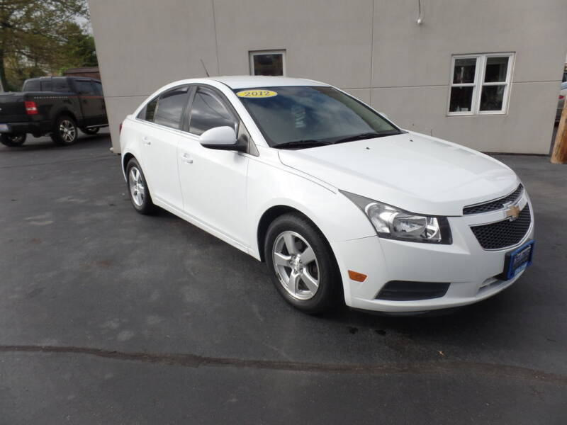 2012 Chevrolet Cruze for sale at DeLong Auto Group in Tipton IN