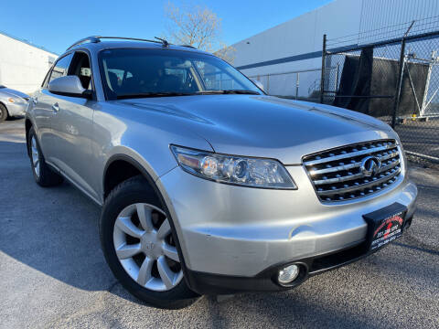 2004 Infiniti FX35 for sale at JerseyMotorsInc.com in Teterboro NJ