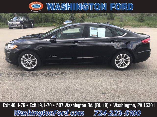 2019 Ford Fusion Hybrid for sale in Washington, PA