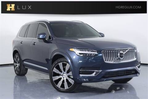 2021 Volvo XC90 for sale at HGREG LUX EXCLUSIVE MOTORCARS in Pompano Beach FL