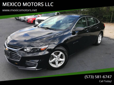 2017 Chevrolet Malibu for sale at MEXICO MOTORS LLC in Mexico MO