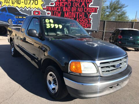 2004 Ford F-150 Heritage for sale at Rock Star Auto Sales in Las Vegas NV
