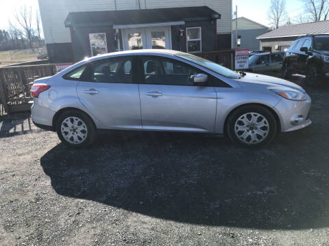 2012 Ford Focus for sale at PENWAY AUTOMOTIVE in Chambersburg PA