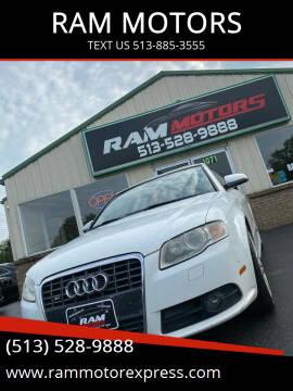 2007 Audi S4 for sale at RAM MOTORS in Cincinnati OH