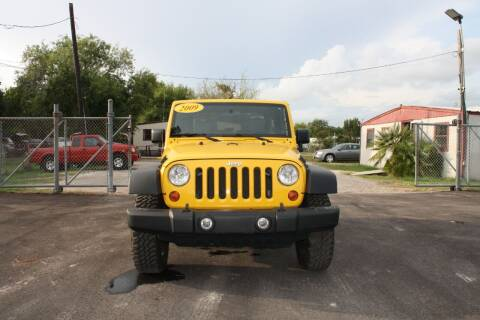 2009 Jeep Wrangler for sale at Fabela's Auto Sales Inc. in Dickinson TX